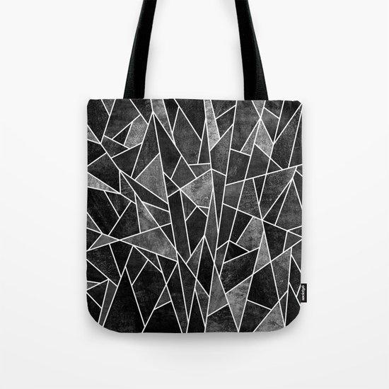 Shattered Black Tote Bag