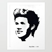 niall horan Art Prints featuring niall horan  by LexxieD