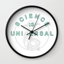 Bill Nye's Official Science is Universal Wall Clock