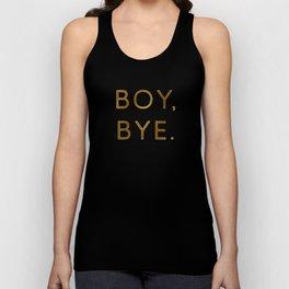 Boy, Bye - Vertical Unisex Tank Top