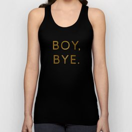 Boy, Bye - Vertical Unisex Tank Top
