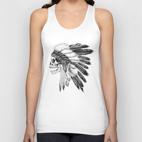 Native American Unisex Tank Top