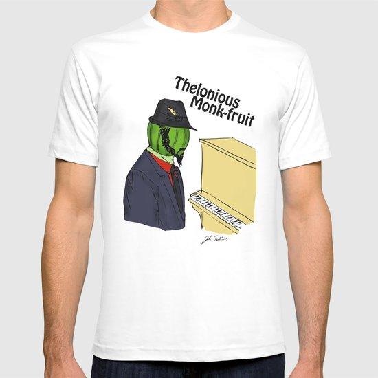 thelonious monk-fruit T-shirt