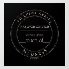 WE/AR Madness Art Print