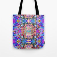 trippy Tote Bags featuring TRIPPY by IZZA