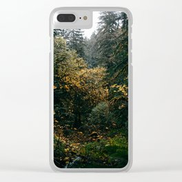 Golden Oregon Forest Clear iPhone Case