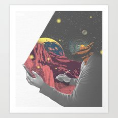 Elude Art Print
