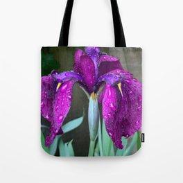 Sacred Trilogy: Water Irises Tote Bag