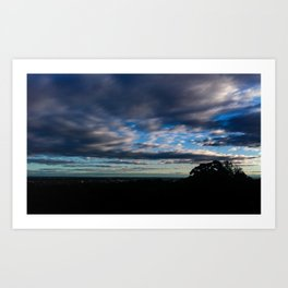 Winter Sky Art Print