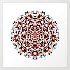 Mandala Number 4 Art Print