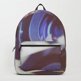 Lens SLR camera on perforation film Backpack