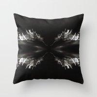 bender Throw Pillows featuring Light Bender by Sloane Dakota