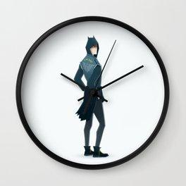 The bat - super rockers Wall Clock