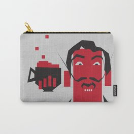 Tea an Crumpets with Dali Carry-All Pouch