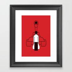 Tankman Framed Art Print