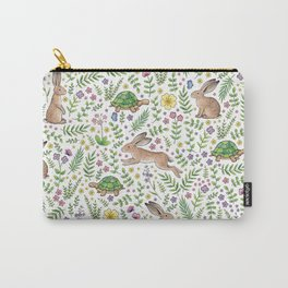 Spring Time Tortoises and Hares Carry-All Pouch