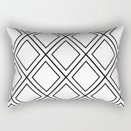 ᚖ NOIR SERIES ᚖ  - Ethnic Chic Pattern Rectangular Pillow