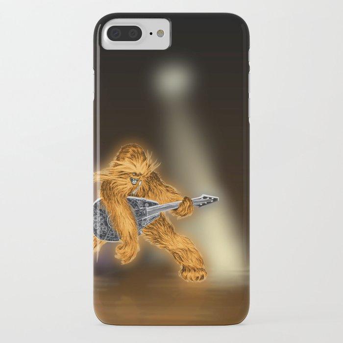 Chewbacca Rock Star iPhone Case