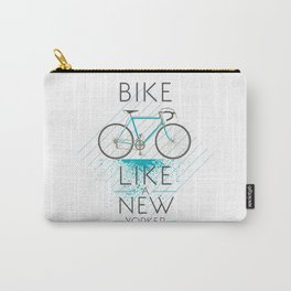 Bike like a new yorker Carry-All Pouch