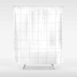 MINUTIA Shower Curtain