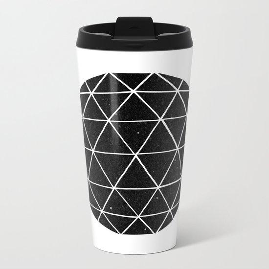 Geodesic Metal Travel Mug