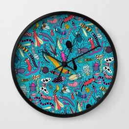Bug Pattern Wall Clock