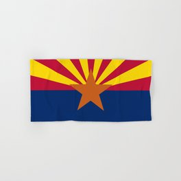 Arizona State Flag Hand & Bath Towel