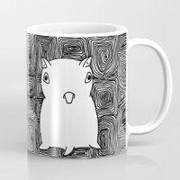 dumbo Mugs featuring Dumbo Octopus by Indigo K
