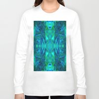 stained glass Long Sleeve T-shirts featuring Stained-glass.  by Assiyam