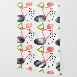 Modern hand draw abstract seamless pattern Wallpaper