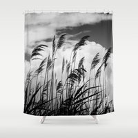 wind Shower Curtains featuring wind by Zsolt Kudar