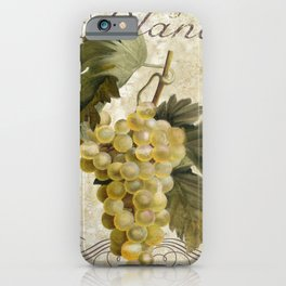 Tuscan Table Blanc iPhone Case