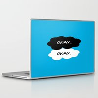 tfios Laptop & iPad Skins featuring Okay? Okay. TFIOS by PAJAMA
