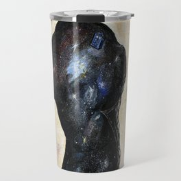 Relative Dimension- TARDIS Space Cosmos Painting Doctor Who Travel Mug
