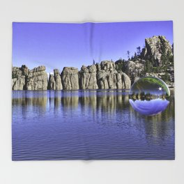 Sylvan Lake Magic Sphere Throw Blanket