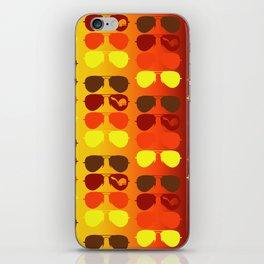 Autumn Aviators iPhone Skin