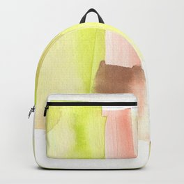 [161228] 23. Abstract Watercolour Color Study|Watercolor Brush Stroke Backpack