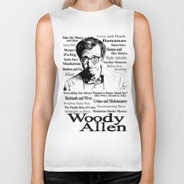 Woody Allen Biker Tank