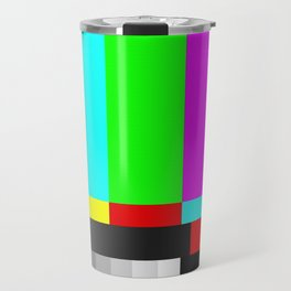 SMPTE Television TV Color Bars Travel Mug