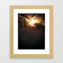 Summer is upon us Framed Art Print