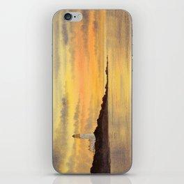 Turnberry Lighthouse Scotland Sunset iPhone Skin