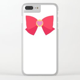 Sailor Chibi Moon Bow Clear iPhone Case