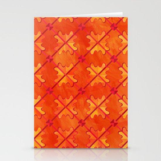 Sagittarius pattern Stationery Cards