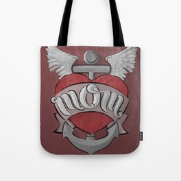 Mom's Tattoo Tote Bag