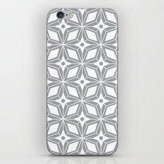 Starburst - Grey iPhone Skin