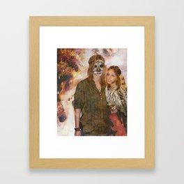Owl Queen Framed Art Print