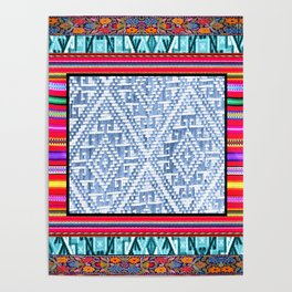 Peruvian Fabric Poster