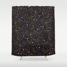 Animal Constellations Shower Curtain