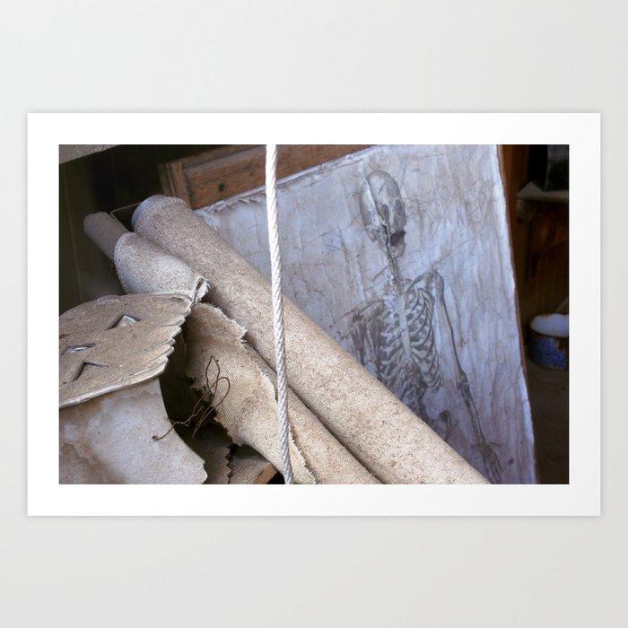 208 Bones Art Print