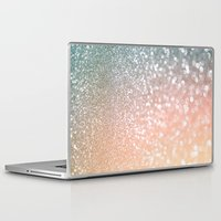 lesbian Laptop & iPad Skins featuring Rose quartz glitter  by Better HOME